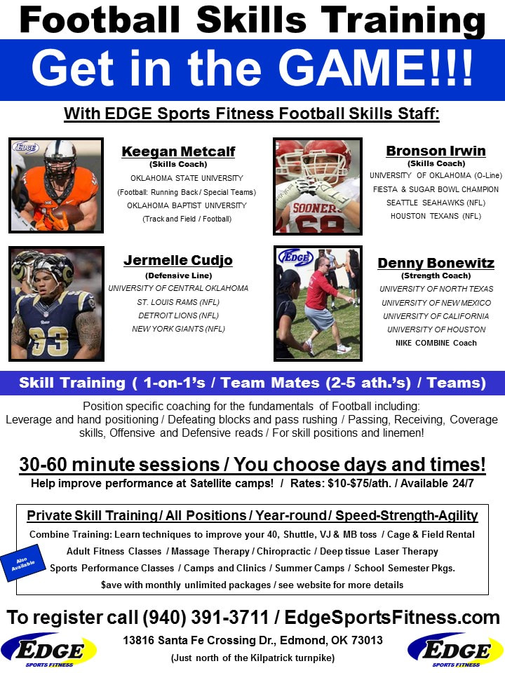 Edmond, OK | The Edge Sports Performance | Speed, Strength
